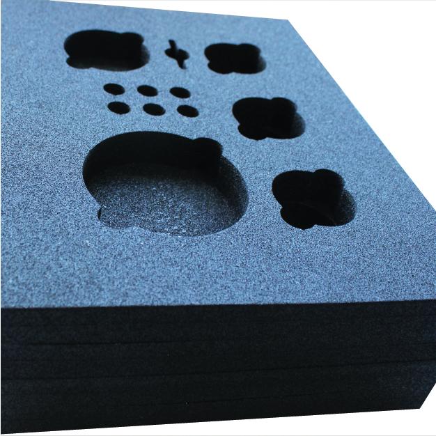 PE Foam zwart lasersnijden
