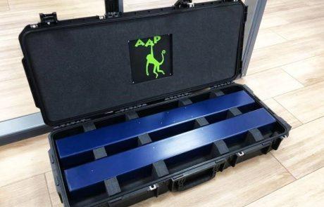 Foam inlay voor koffer
