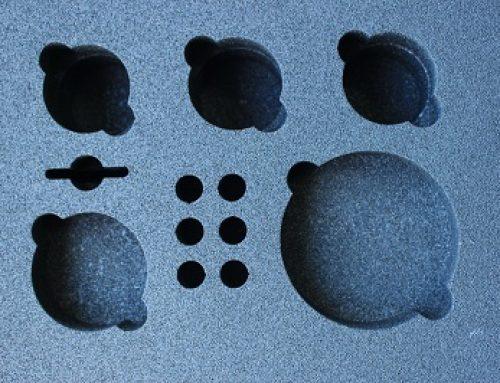 Inlays en foam inserts op maat