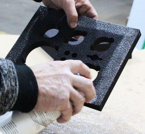 Foam Inlay Lasersnijden en assembleren