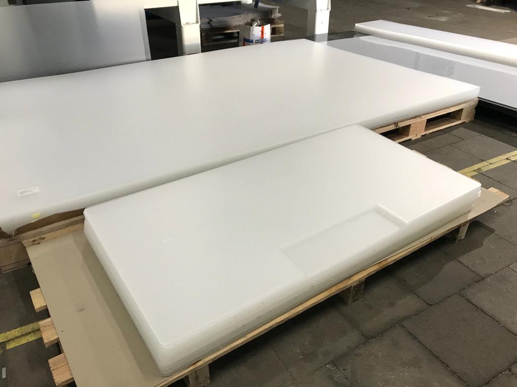 Acrylaat lasersnijden diverse onderdelen