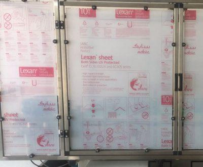 Kunststof Beschermkap voor machines Lasersnijden
