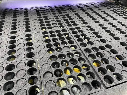 Kunststof schuimverpakkingen lasersnijden