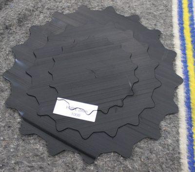 HMPE lasersnijden van slijtplaten